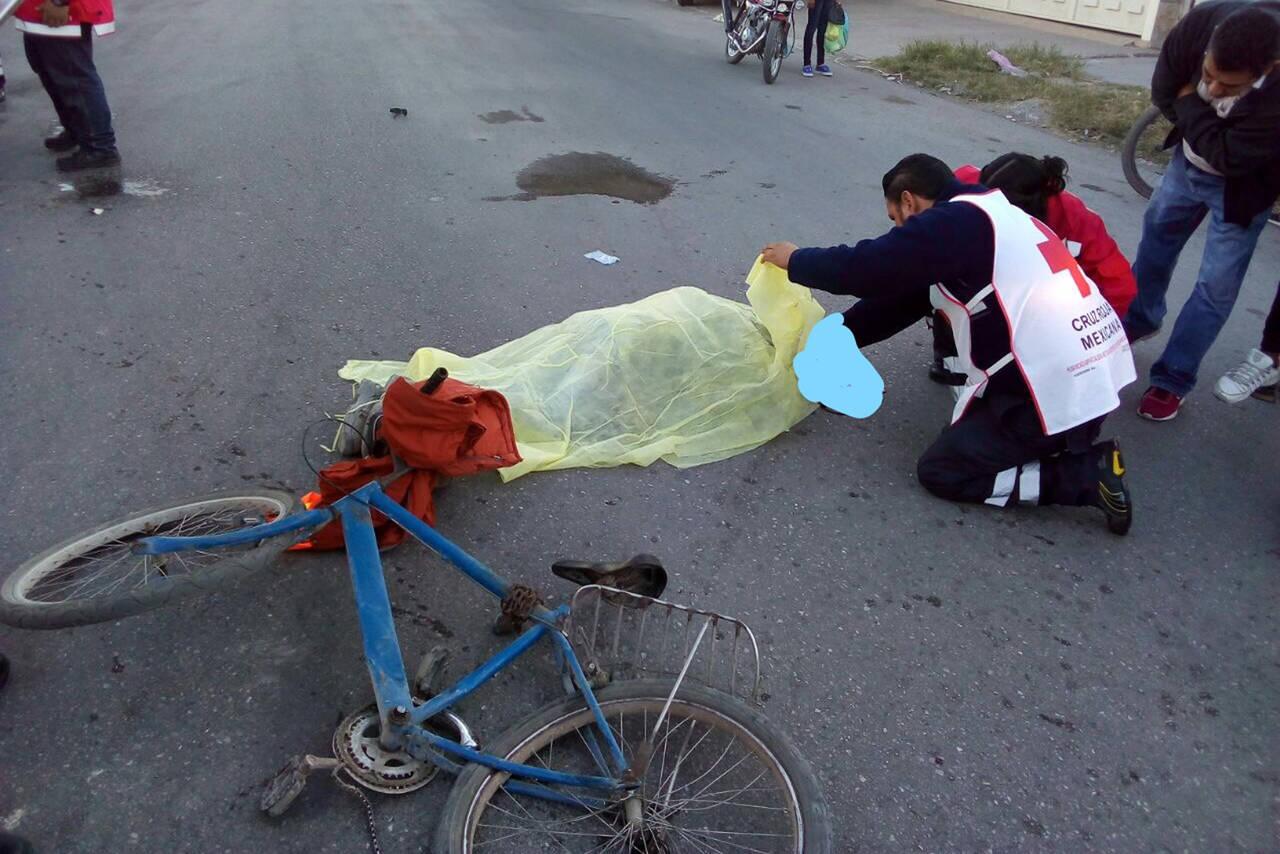 Identifican a ciclista arrollado por camión