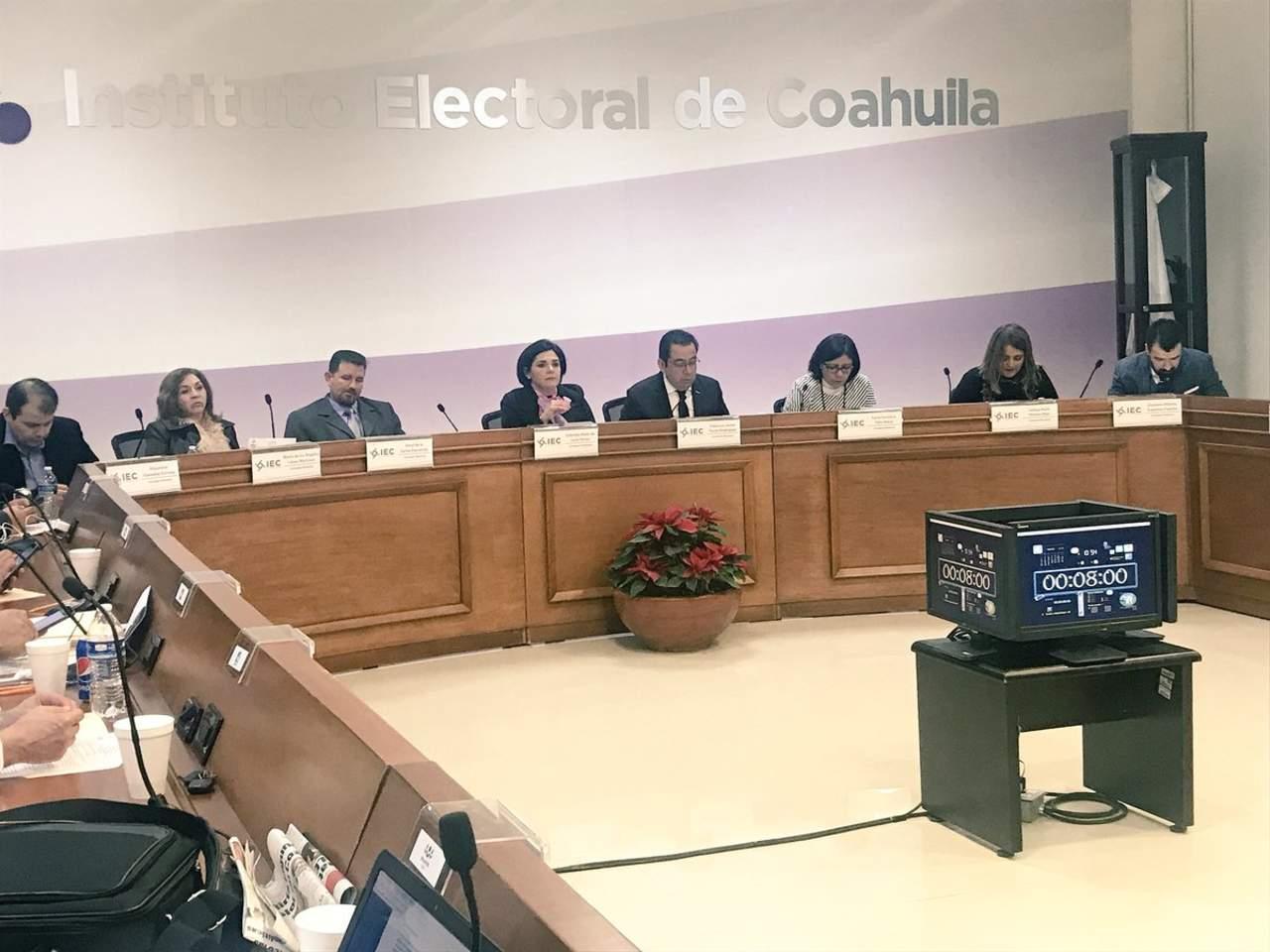 Cinco partidos menos en Coahuila