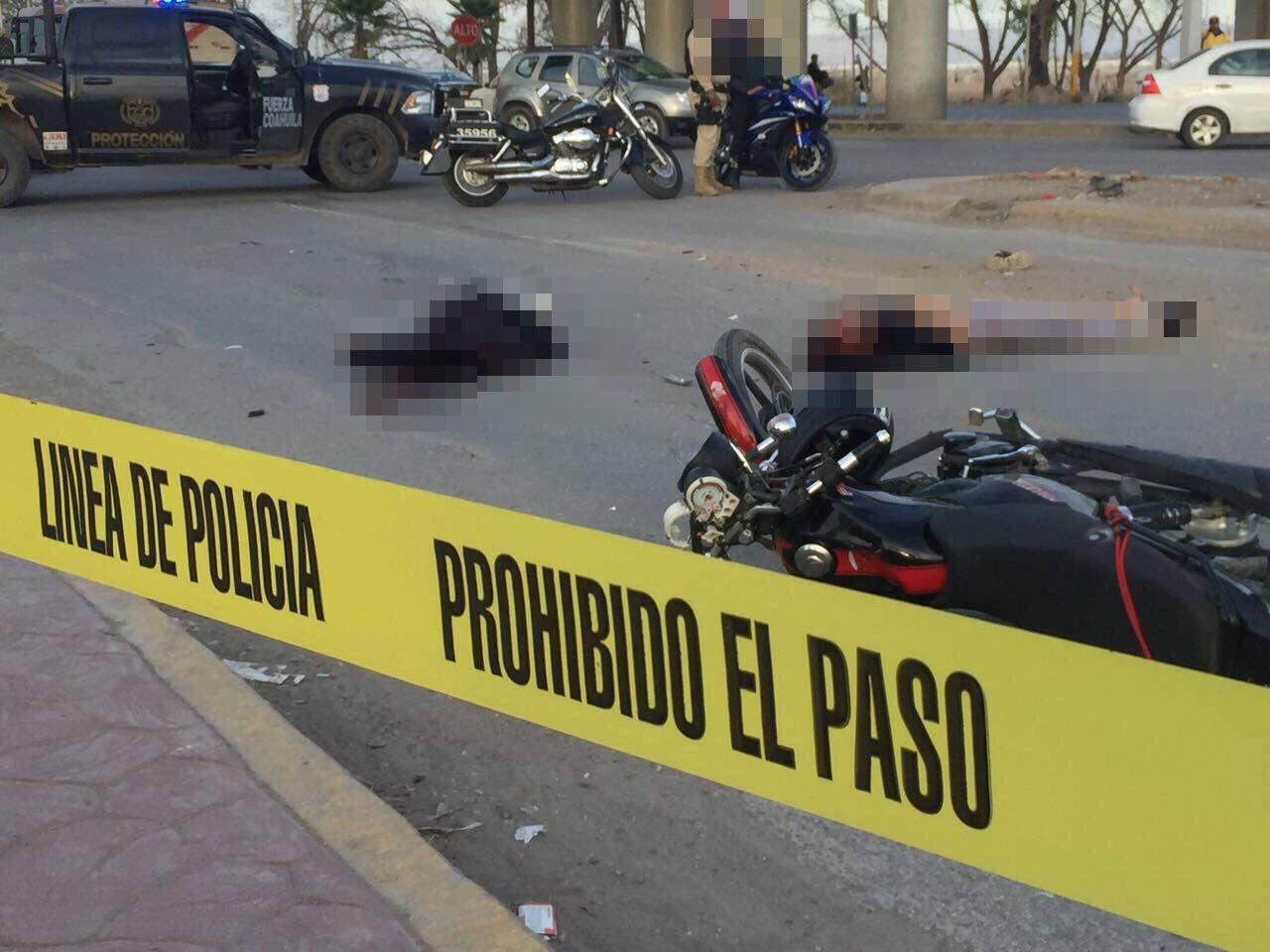Camión de basura embiste moto; muere hombre y mujer resulta lesionada