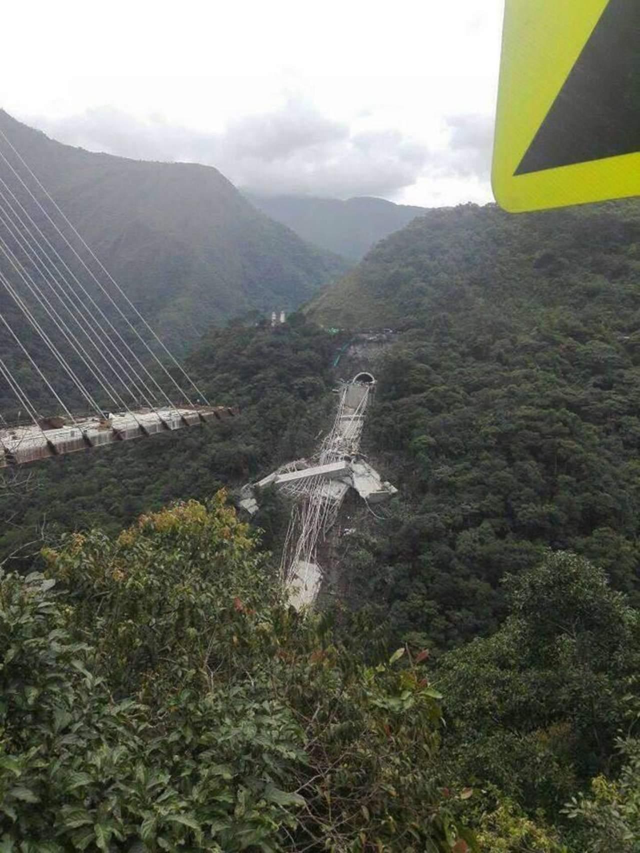 Puente colapsado difundido en redes no es el Baluarte