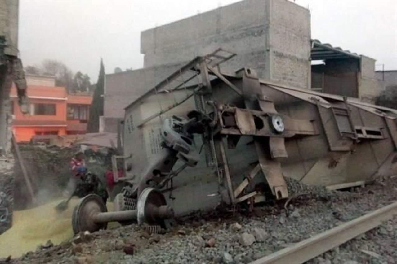 Se descarrila tren en Ecatepec; 5 muertos