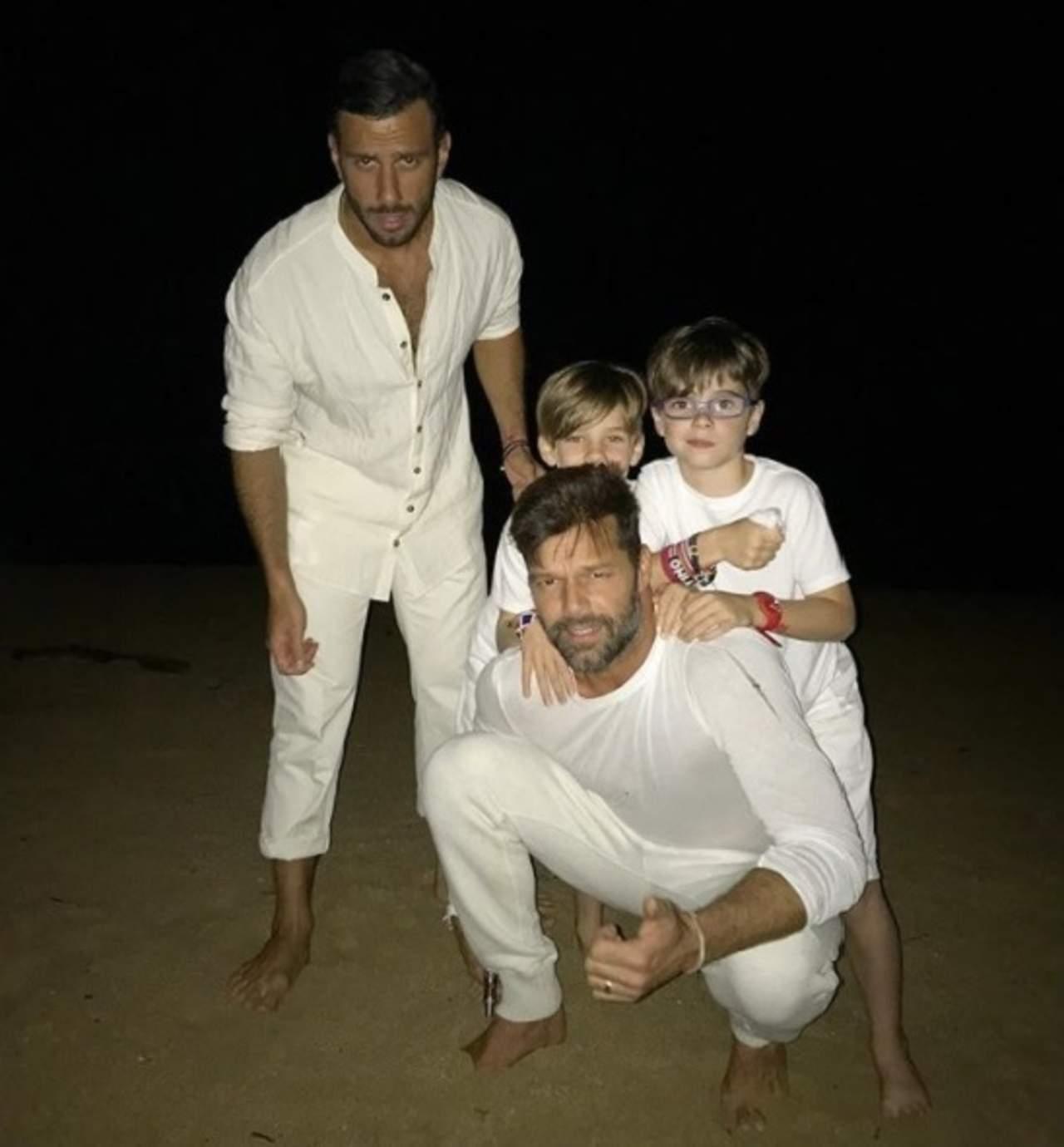 Así le explicó Ricky Martin a sus hijos por qué tienen dos papás