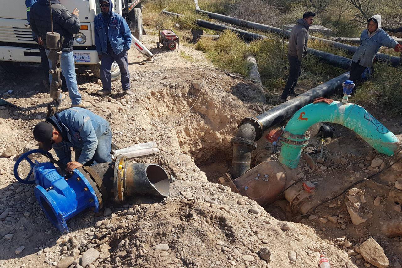 Suspenden en Lerdo el servicio de agua