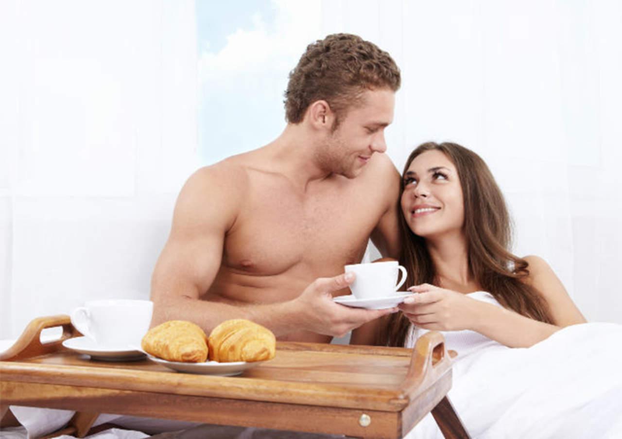 ¿Qué no comer antes de tener sexo?
