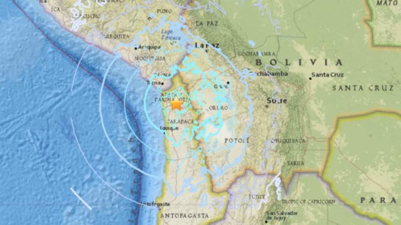 Sismo de 6.3 grados sorprende al norte de Chile