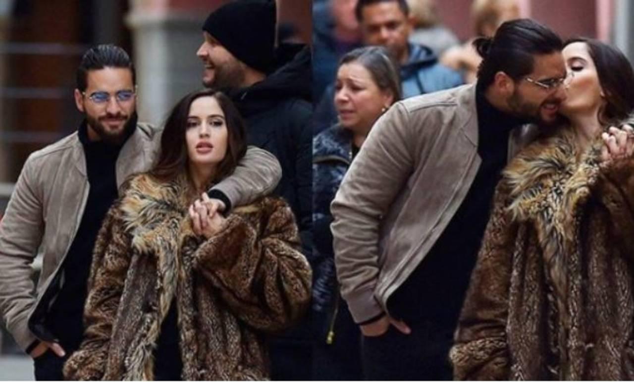 Maluma ya no oculta su amor por Barulích