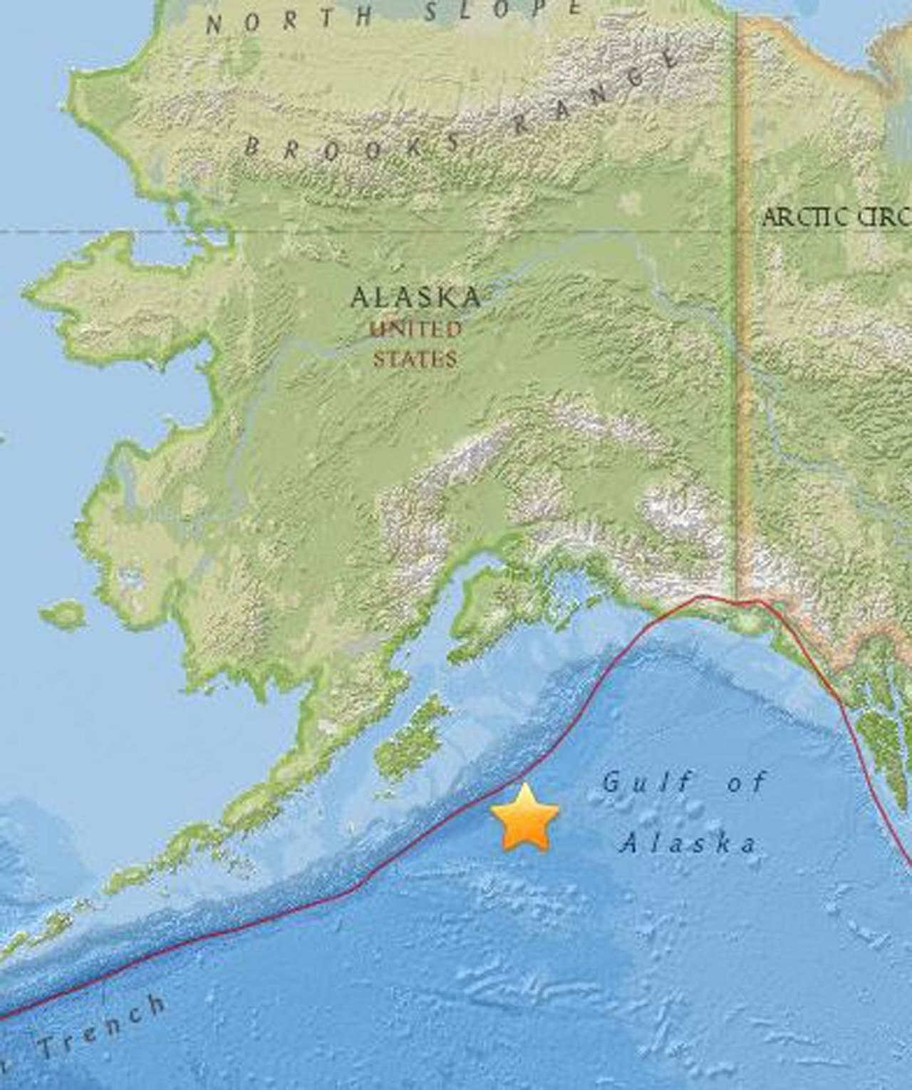 Sismo de 7.9 grados en Alaska provoca alerta de tsunami