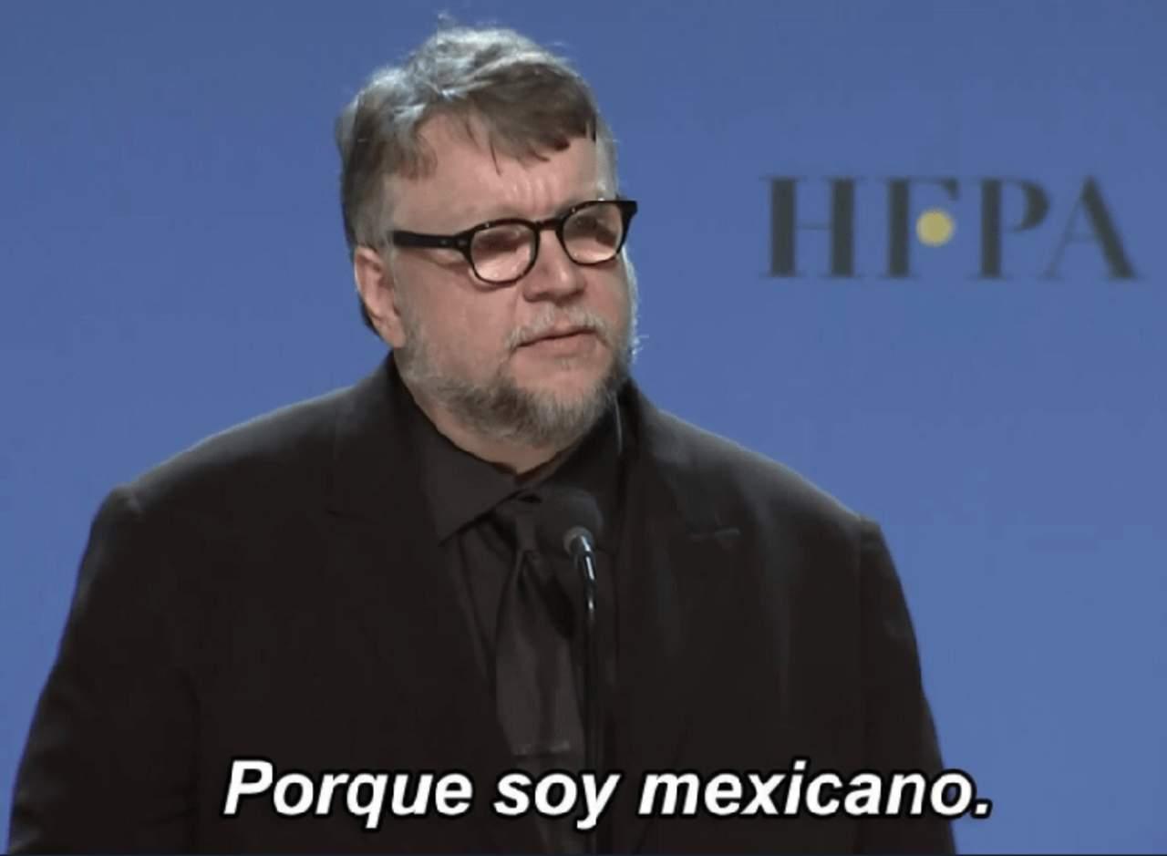 'Porque soy mexicano', Guillermo del Toro se convierte en meme