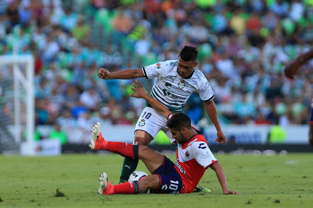 Al medio tiempo, Santos cae 1-0 frente a Tiburones