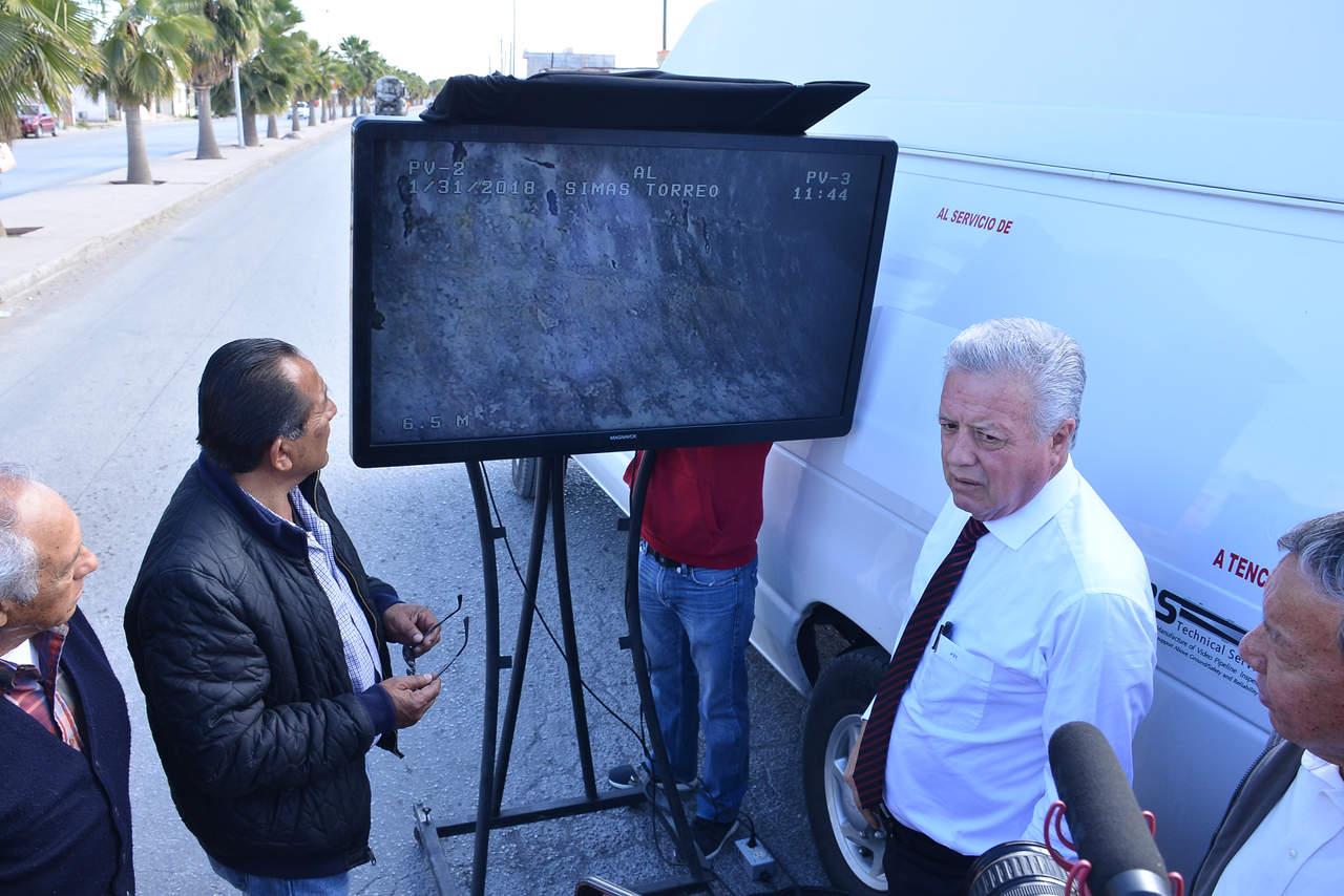 Comprará Simas equipo de video para monitorear colectores sanitarios