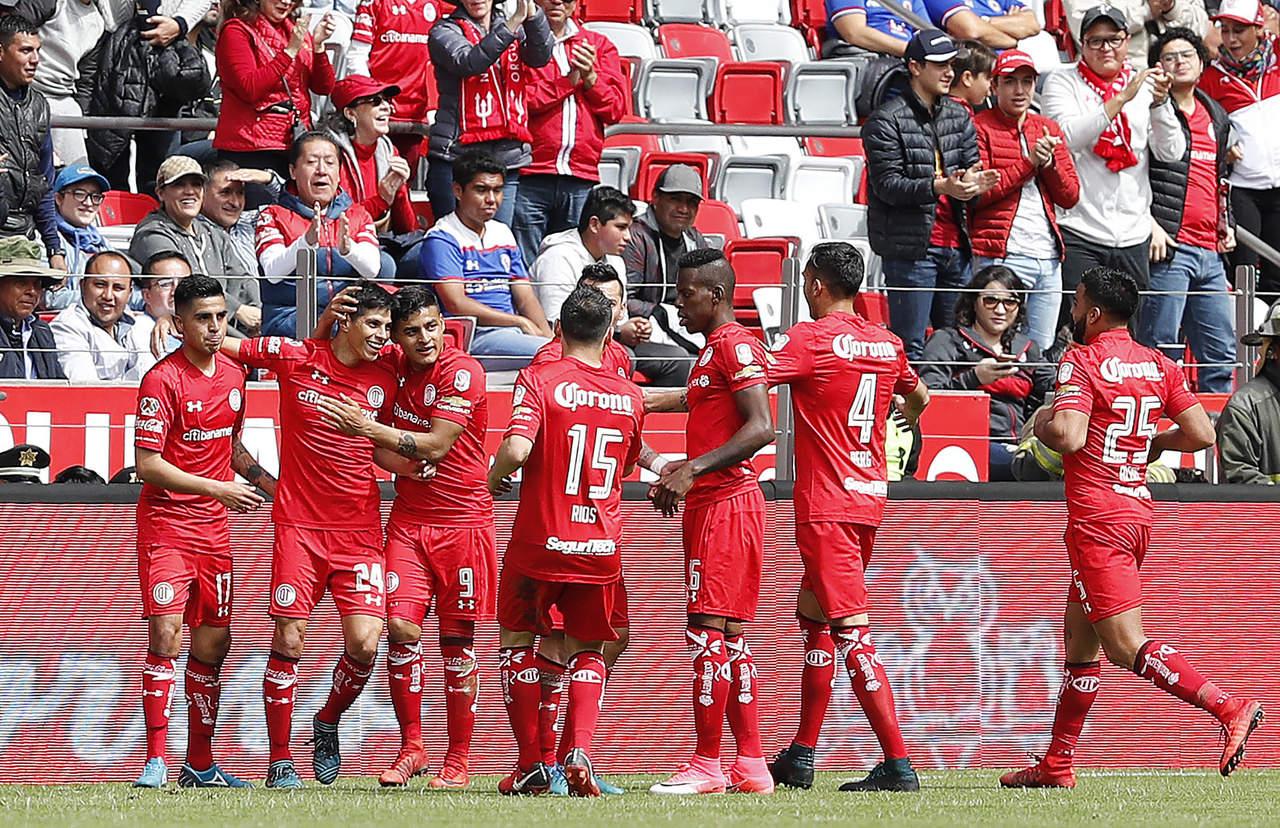 Toluca, en busca de la victoria ante Santos en la Copa MX