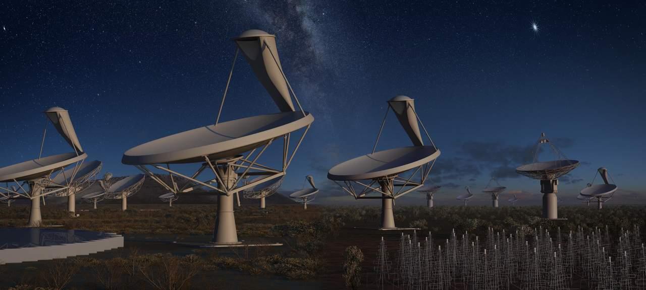 SKA, el mayor radiotelescopio para buscar vida inteligente en el cosmos