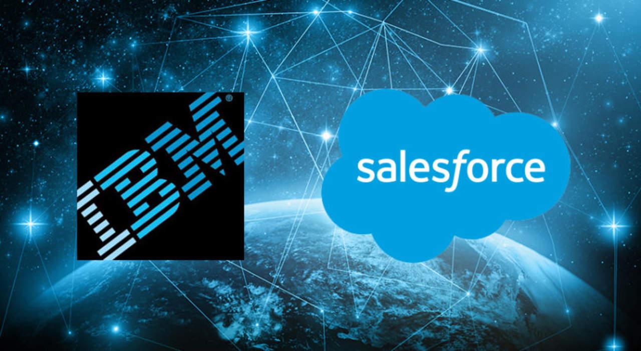 IBM y Salesforce anuncian expansión