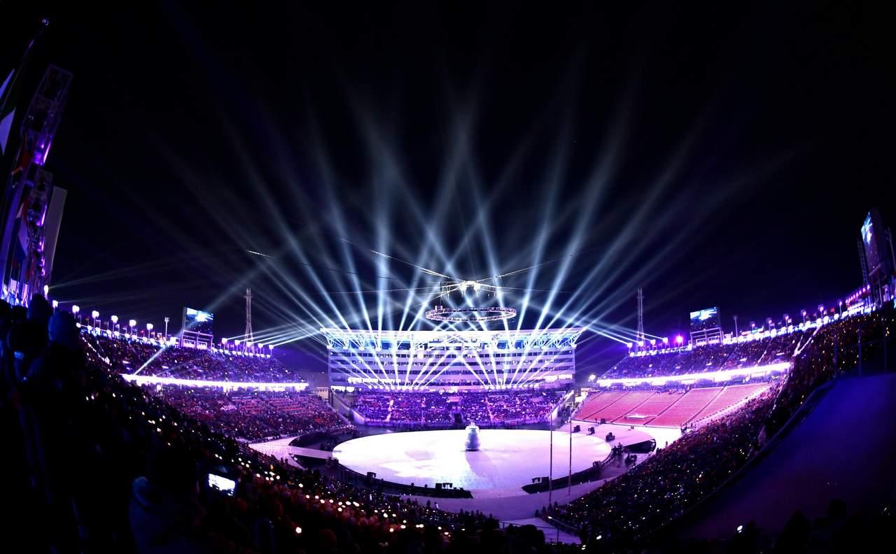 Presidente surcoreano declara inaugurados los Juegos Olímpicos de Invierno