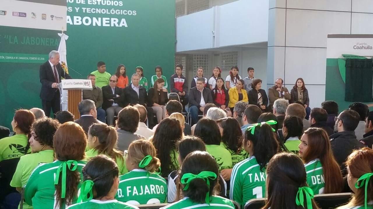 Inauguran nuevo Cecytec La Jabonera