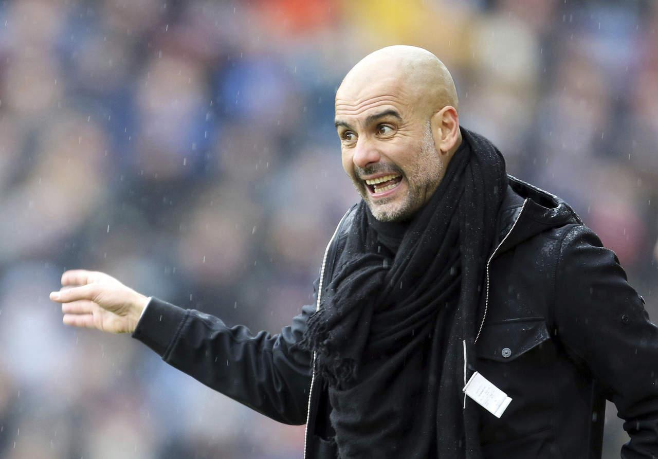 Pep Guardiola enfrentará con un delantero al Leicester City