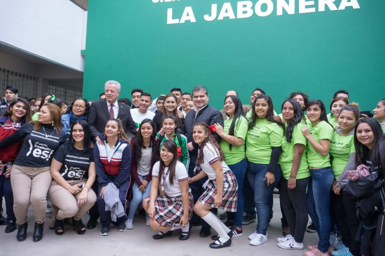 Inauguran Cecyte Jabonera con inversión de 14 millones