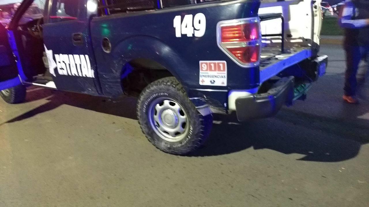 Sufren colisión con una patrulla en Gómez Palacio