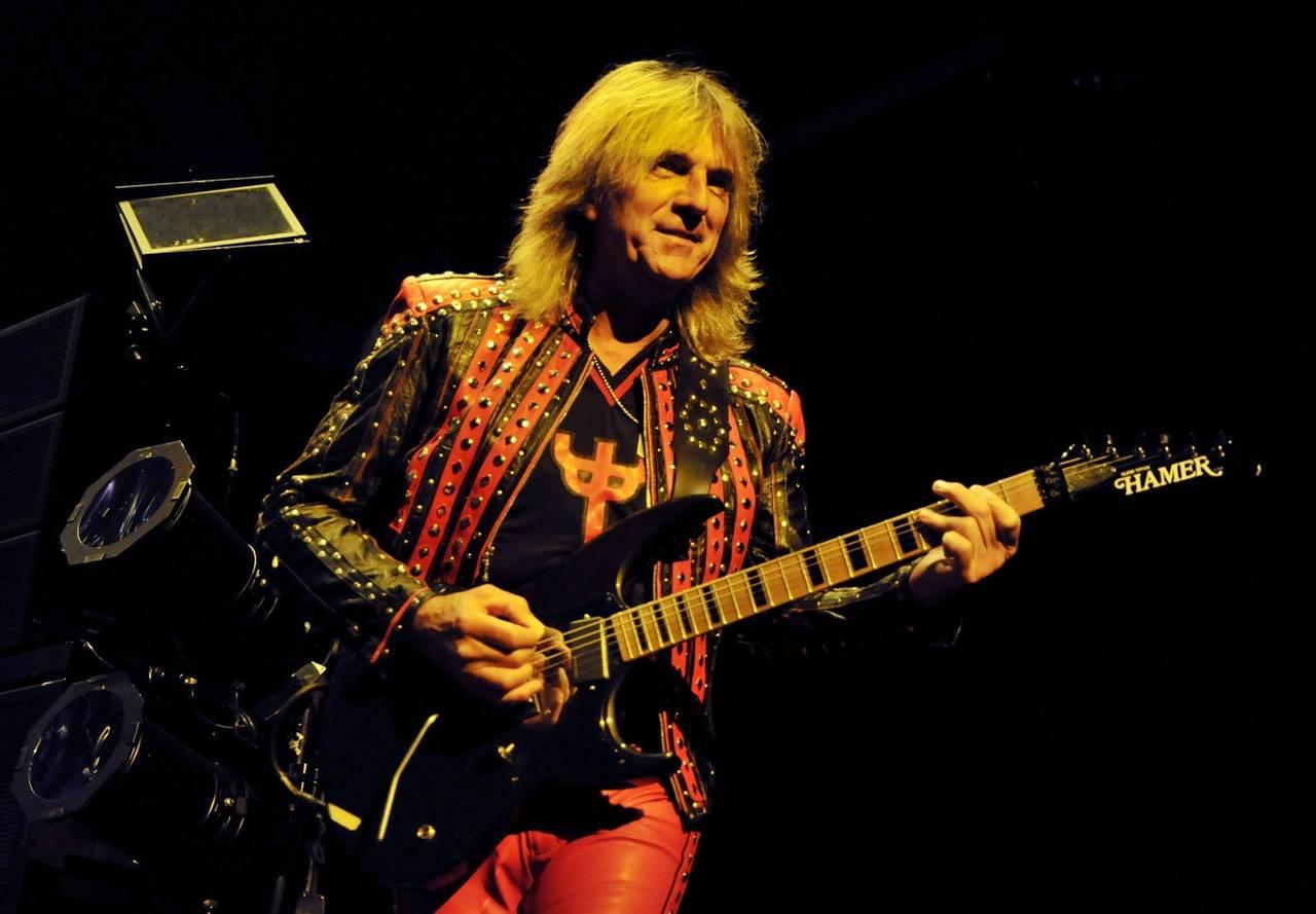 Guitarrista de Judas Priest no estará en gira por Parkinson