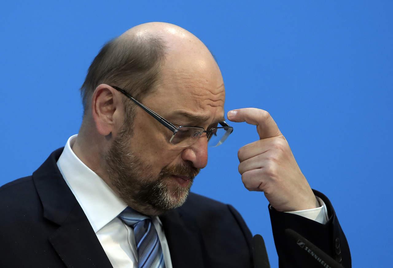 Dimite presidente del Partido Socialdemócrata Alemán