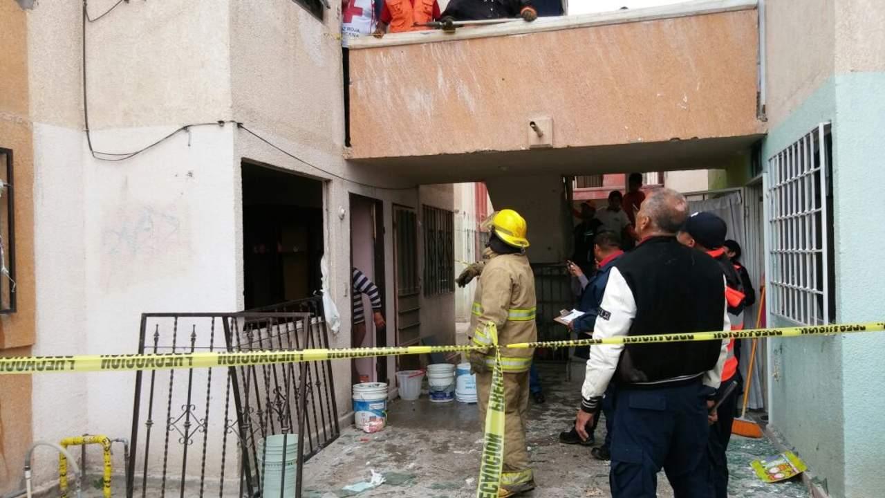 Explosión en domicilio de los condominios Manhattan deja un lesionado
