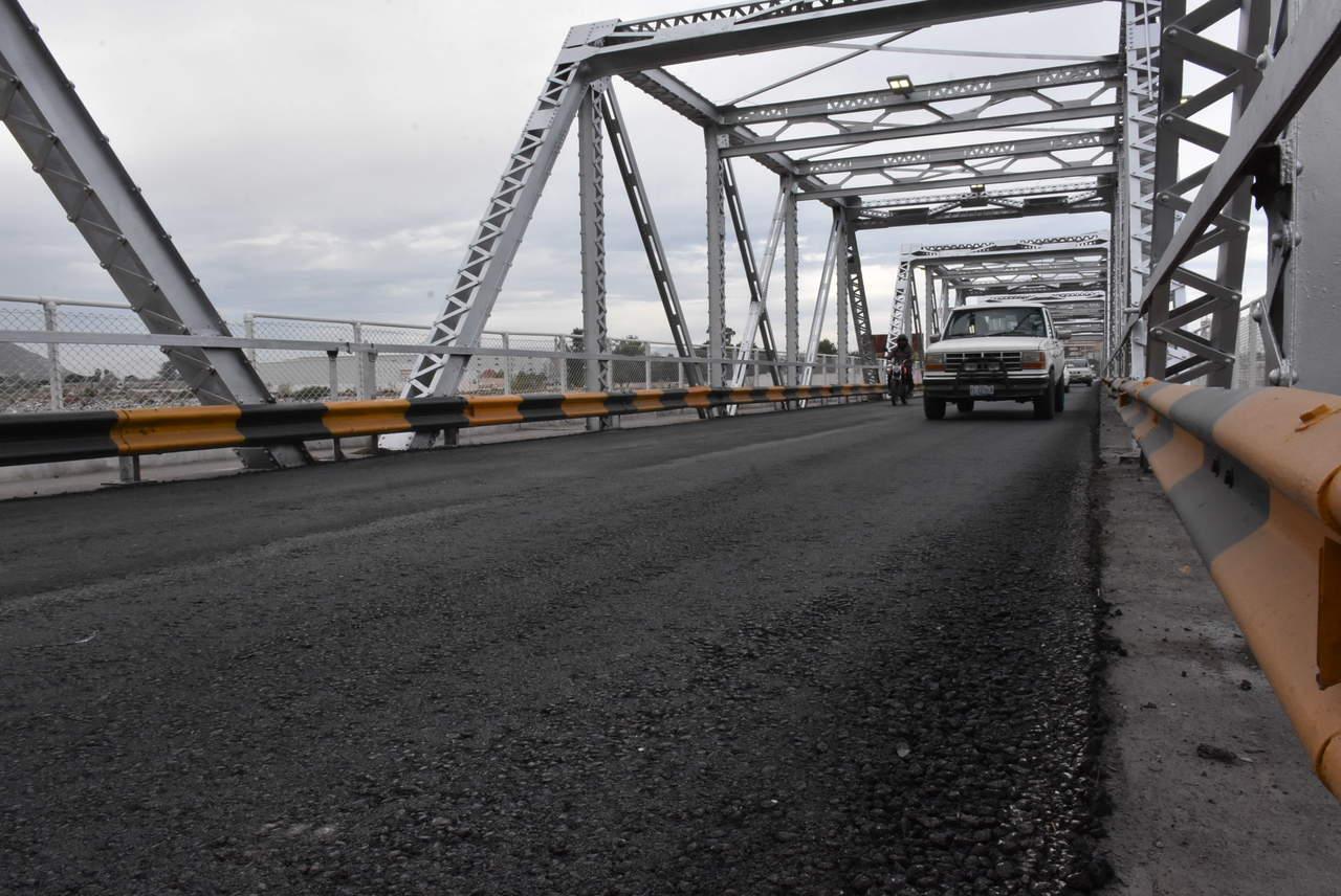 Inaugurarán mañana obras del puente Plateado