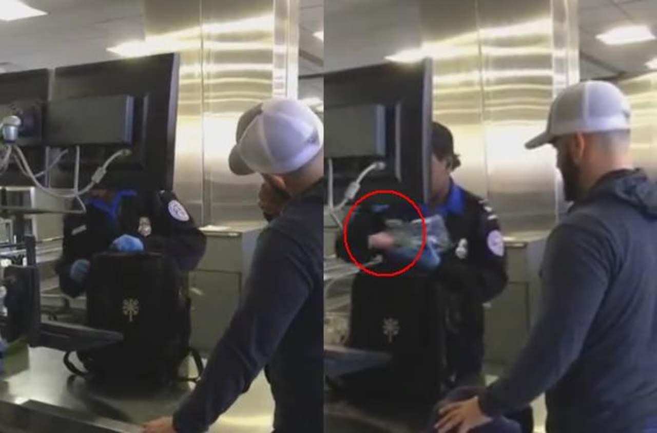 Pasa vergonzosa situación durante revisión en aeropuerto