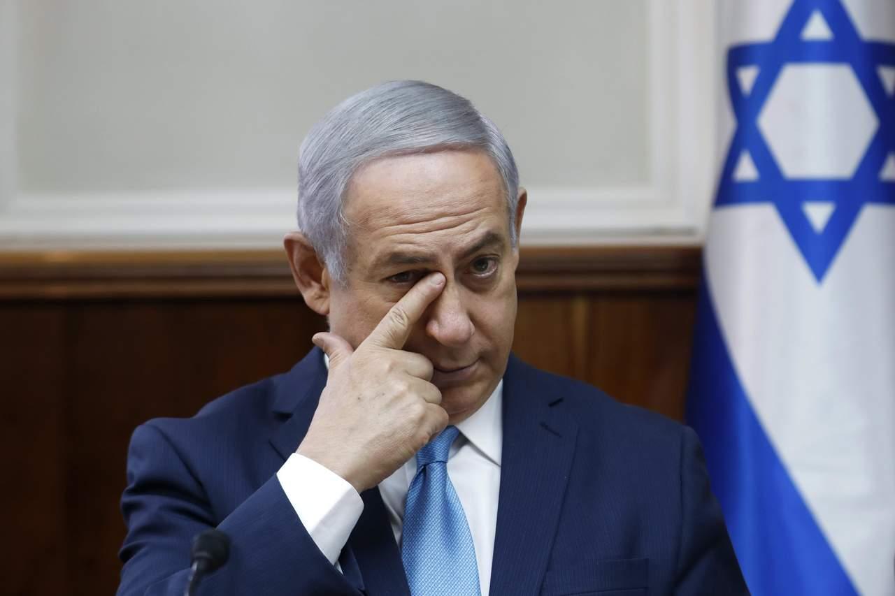 Piden encausar a Netanyahu