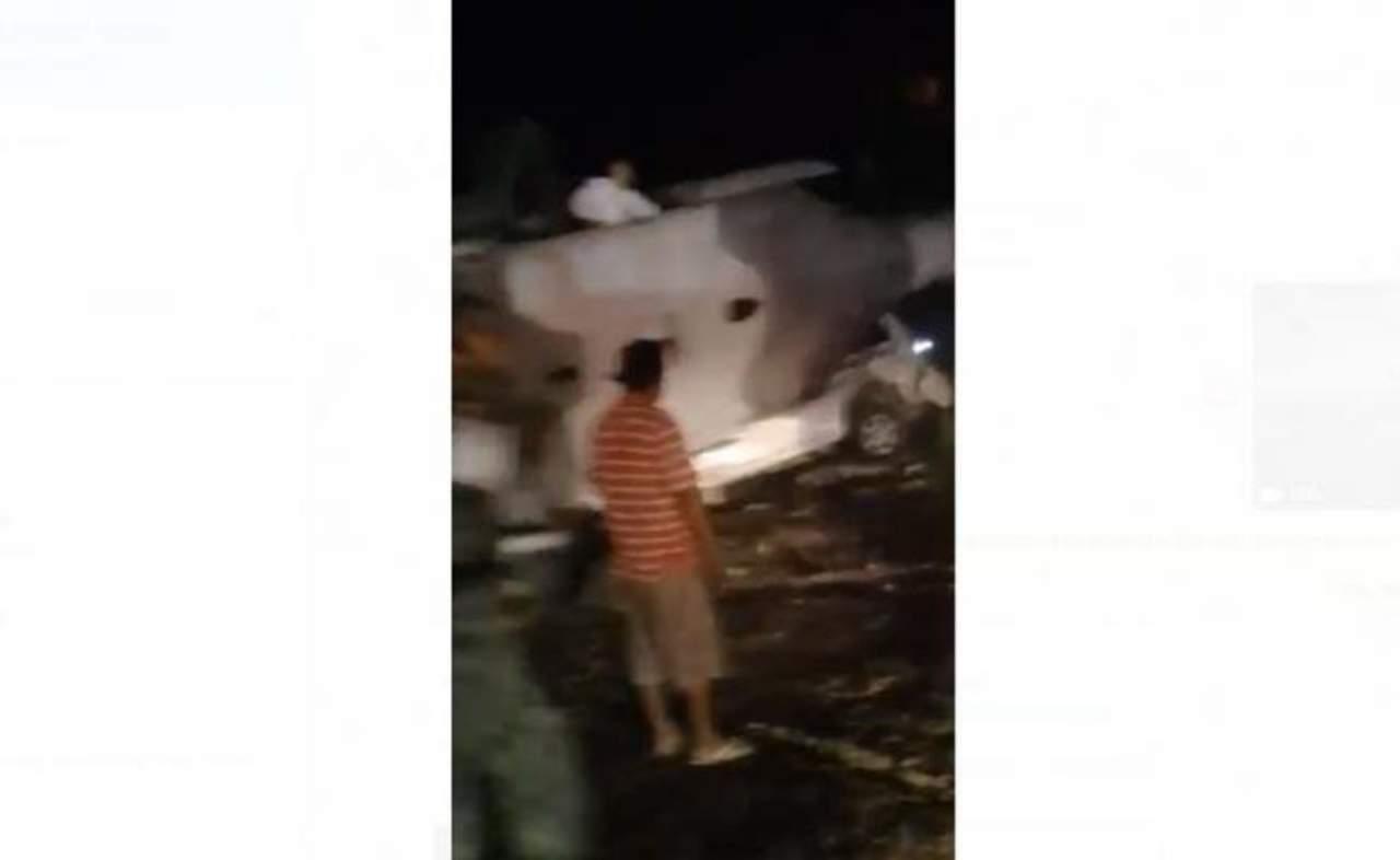 Difunden video de tragedia por desplome de helicóptero