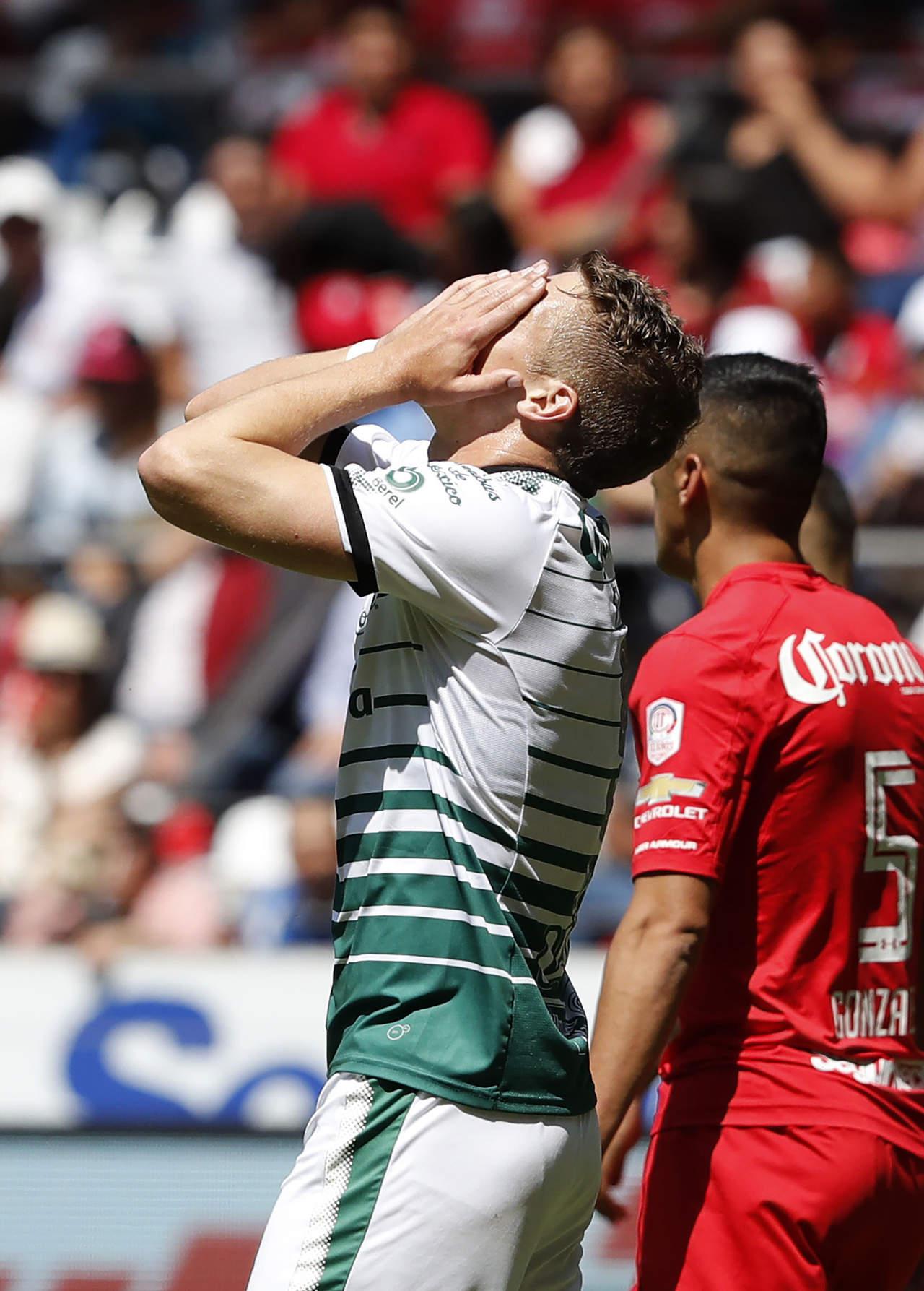 Santos cae en su visita a Toluca