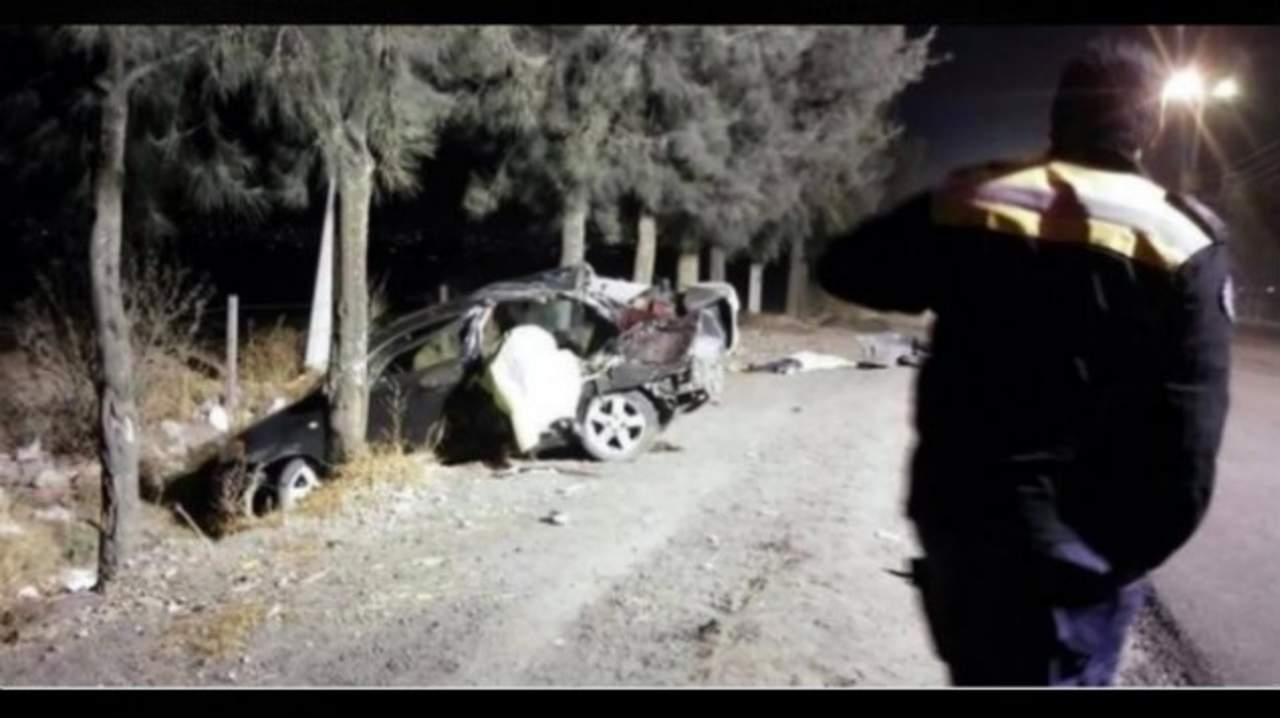 Mueren cinco menores en choque en Tláhuac; conductor tiene 12 años