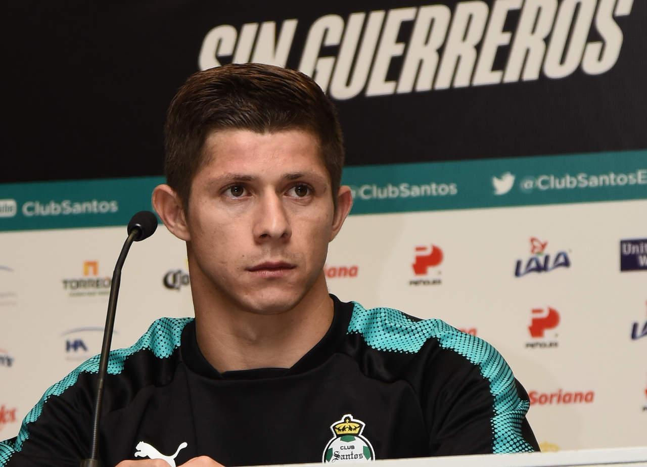 Cris Martínez estará fuera de circulación con Santos