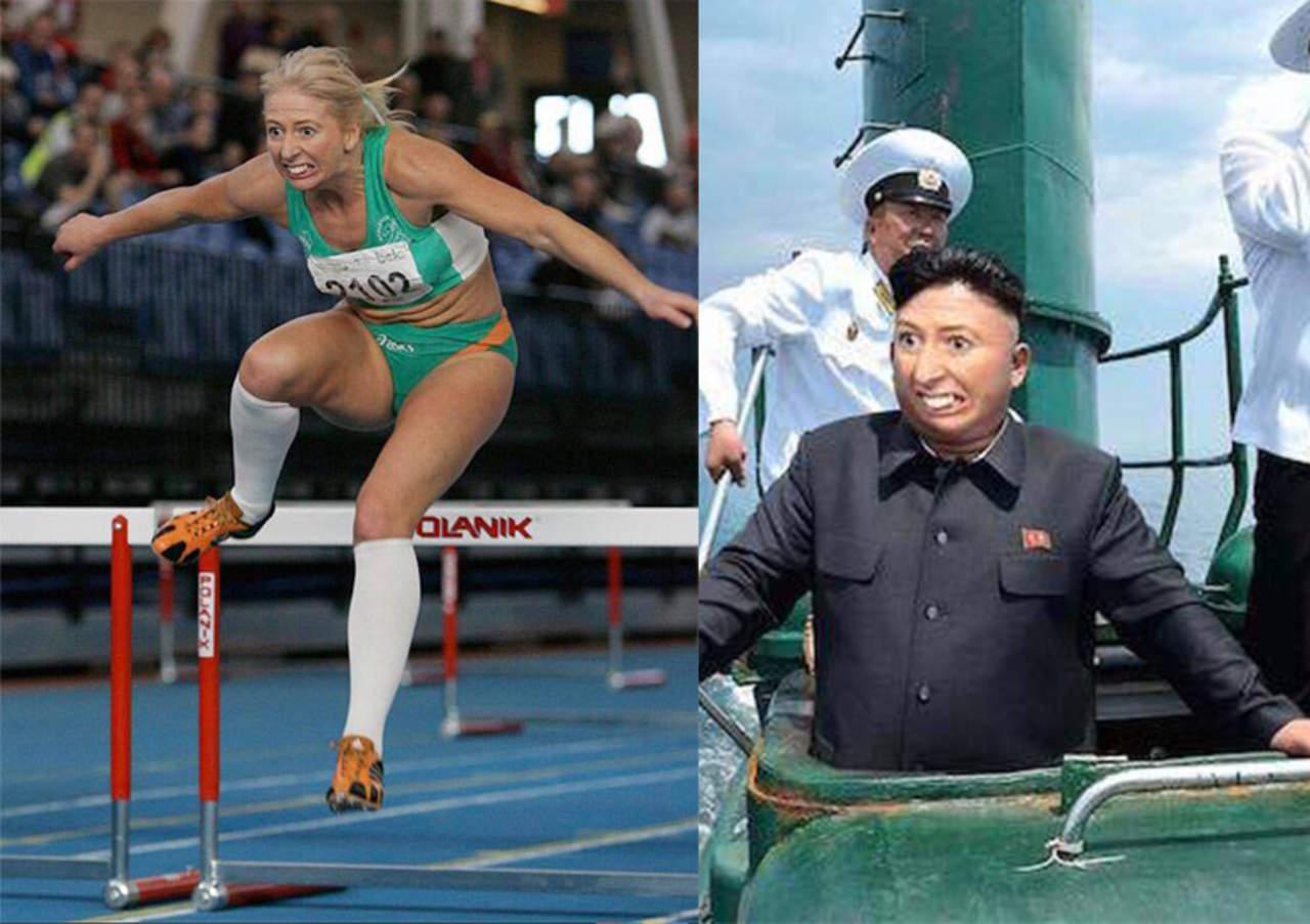 Atleta de obstáculos se hace meme viral