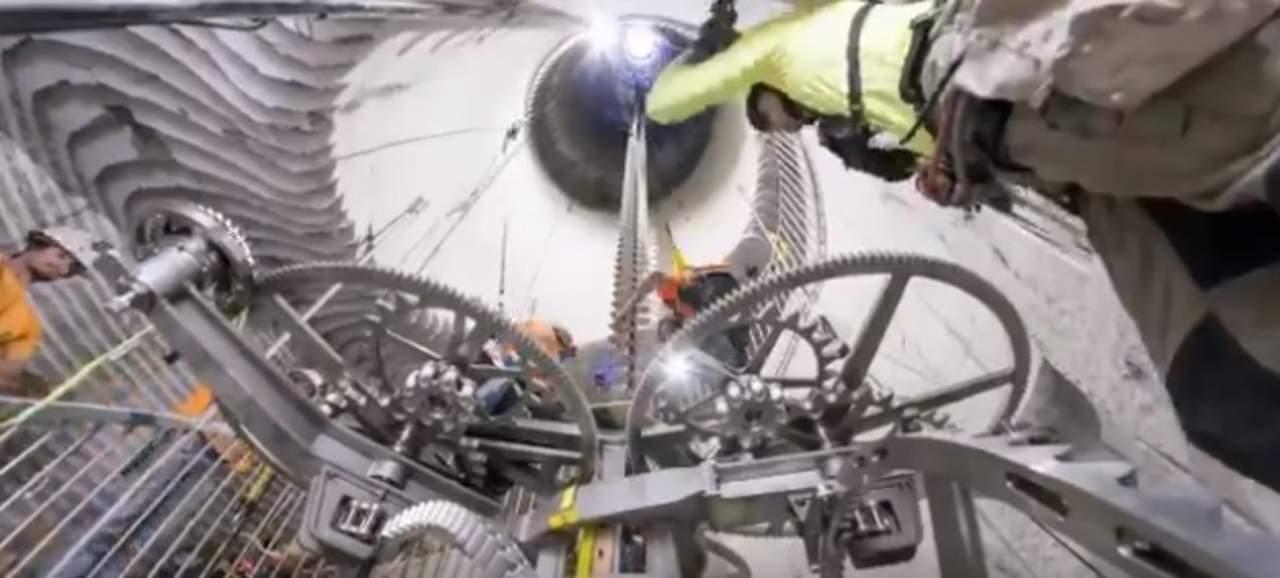 Jeff Bezos diseña enorme reloj que medirá el tiempo durante diez milenios