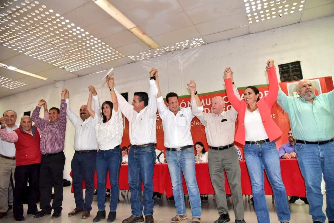 Elige PRI a sus candidatos a alcaldías en Coahuila
