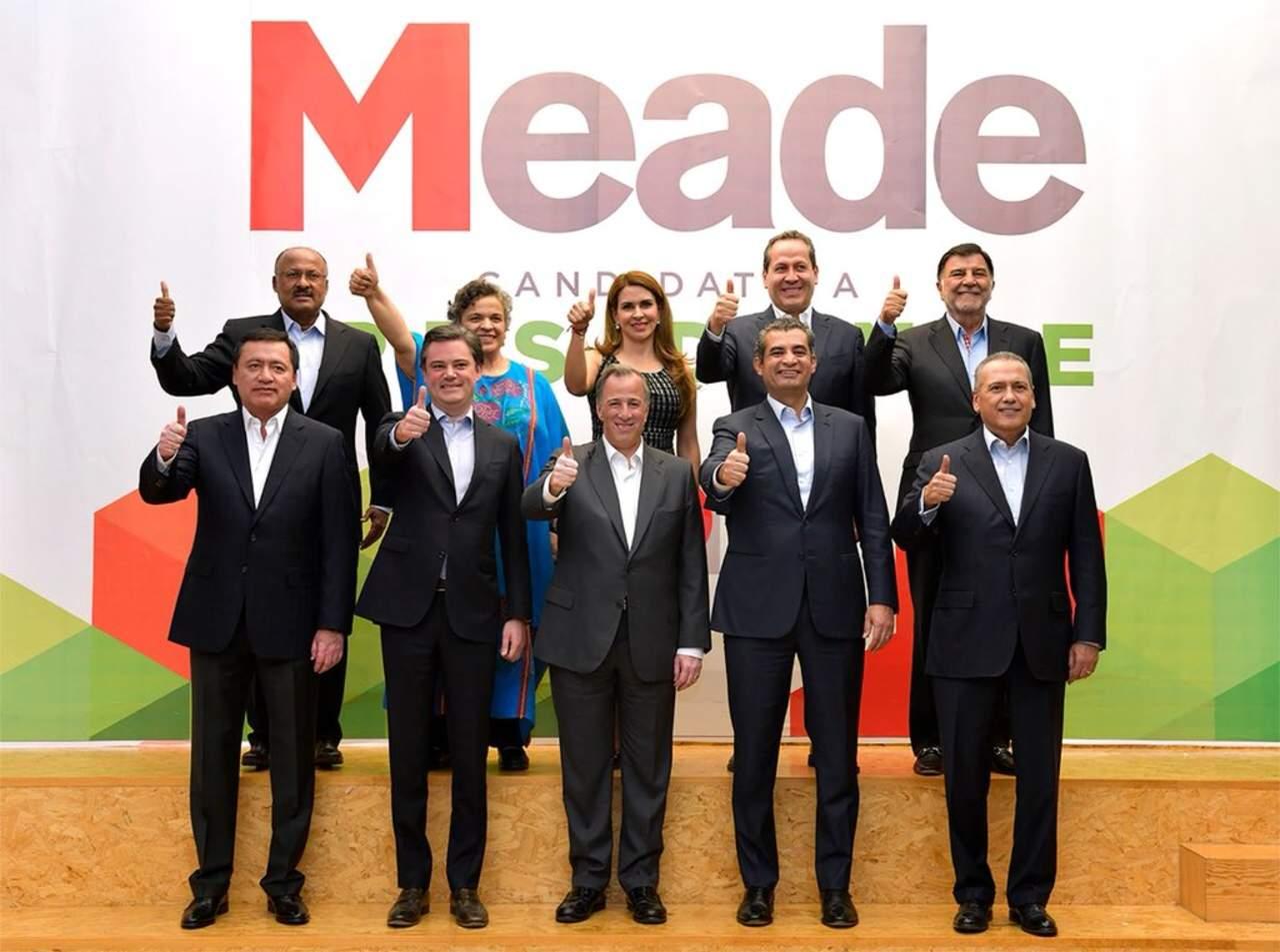 Se suman Osorio, Viggiano y Beltrones a campaña de Meade
