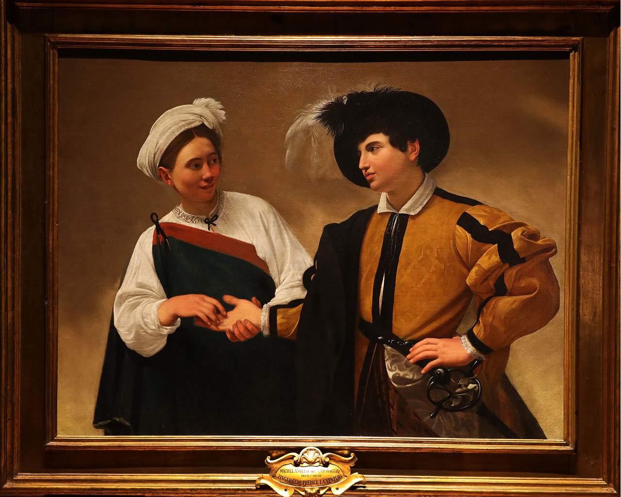 La buenaventura, de Caravaggio