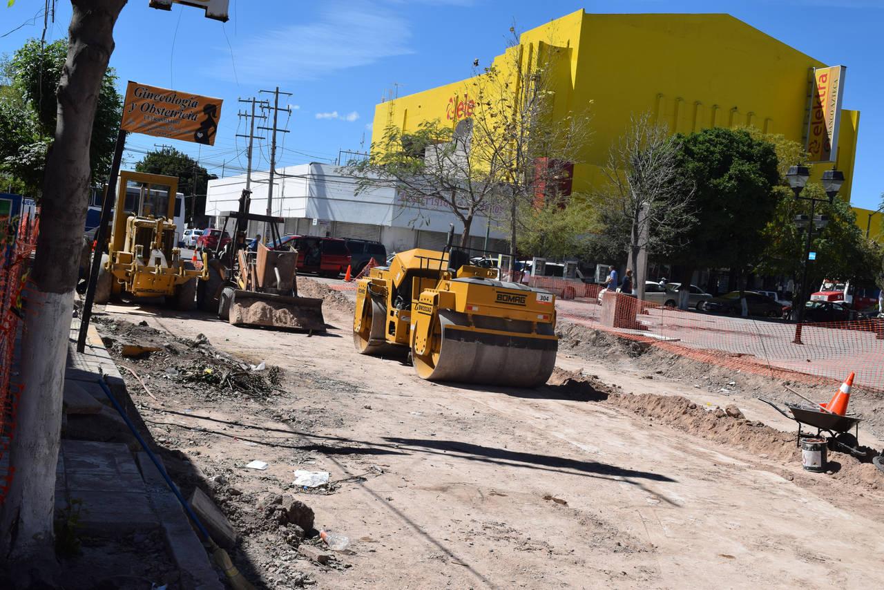 Vigilarán obras de calle Centenario