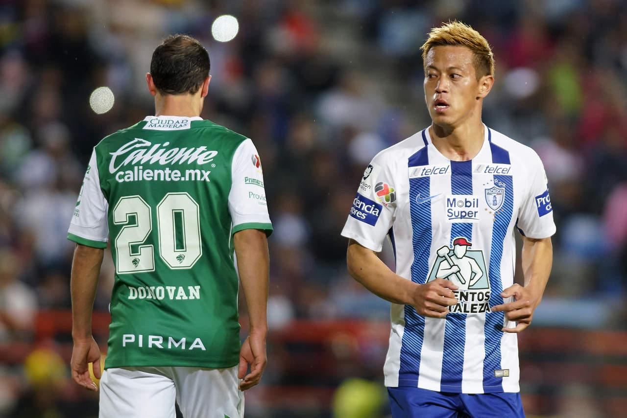 Pachuca vence de último minuto a León
