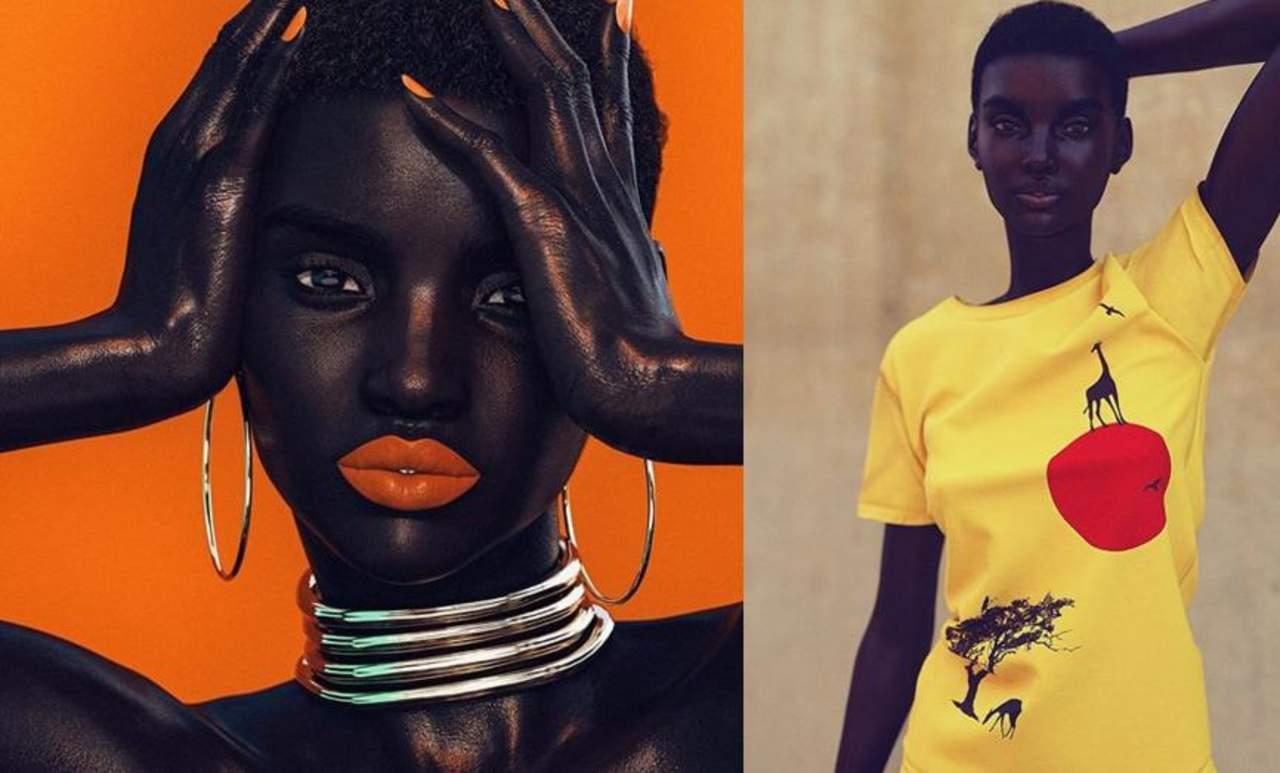 Modelo digitalizada se vuelve popular en redes sociales