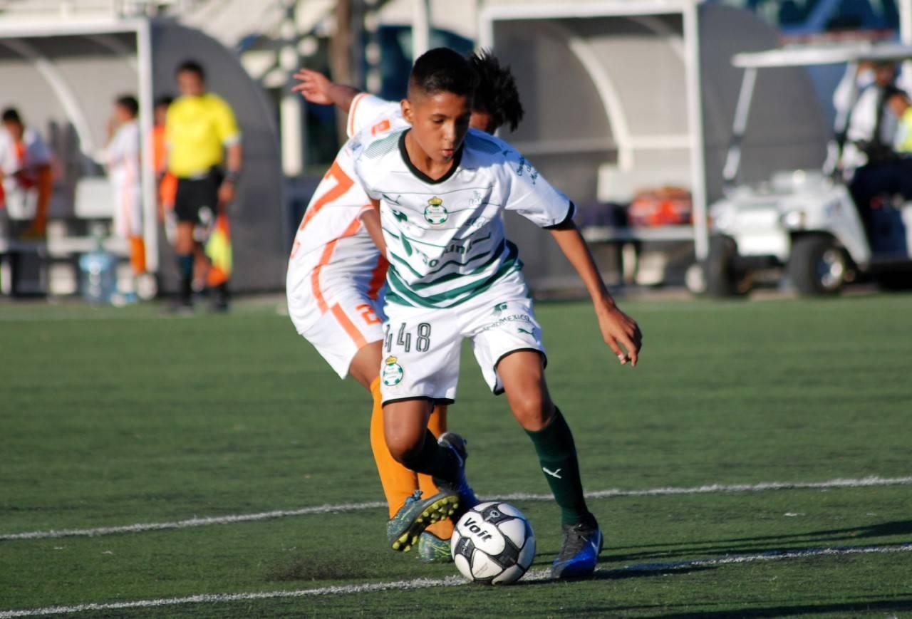 Santista va a selección Sub-15