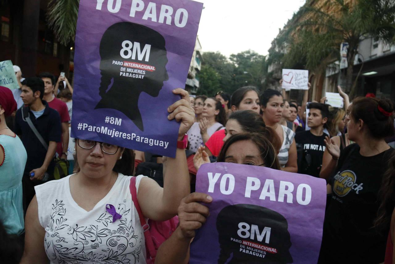 Red de mujeres se une a paro mundial