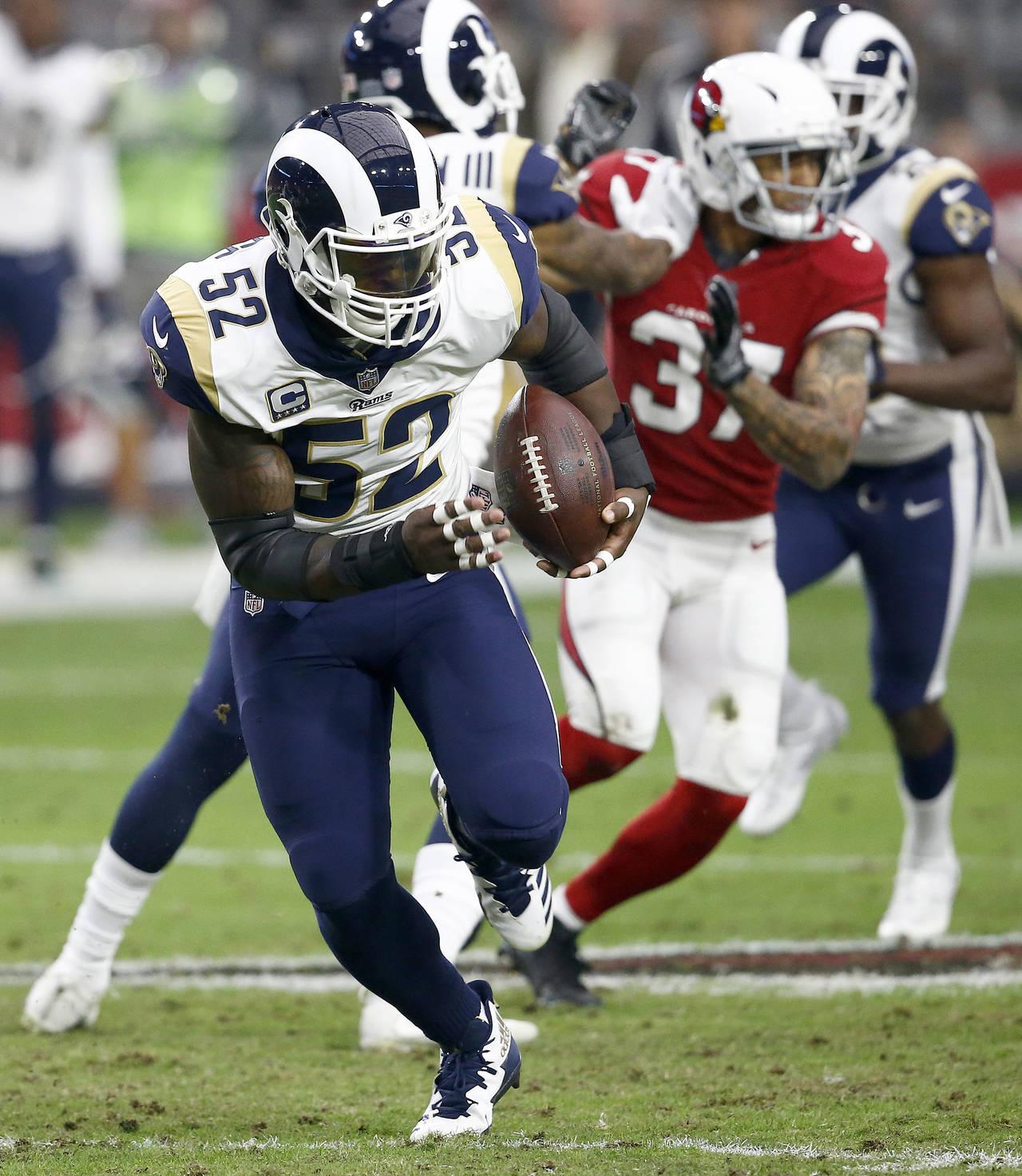 Rams cambia a Ogletree a los NY Giants