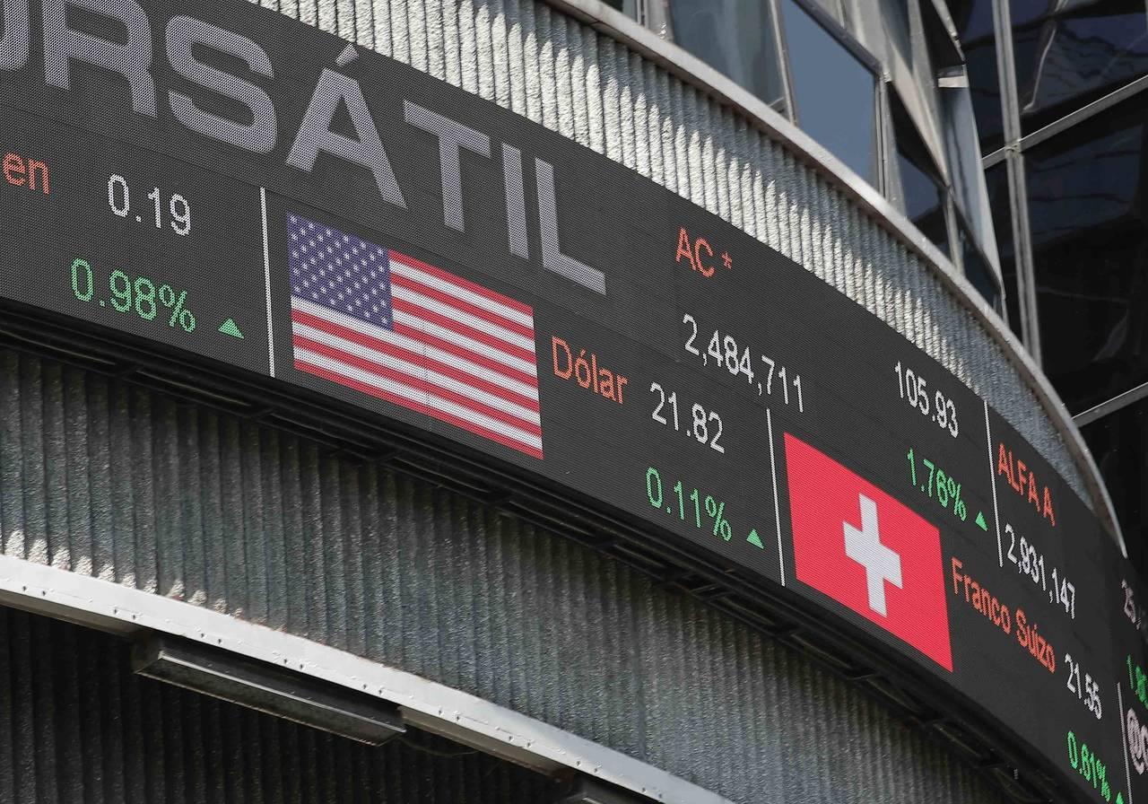 Pierde la Bolsa 0.46 por ciento