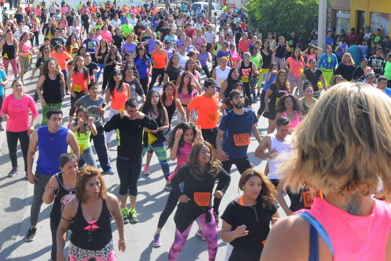Organizan mega maratón de zumba en FIM