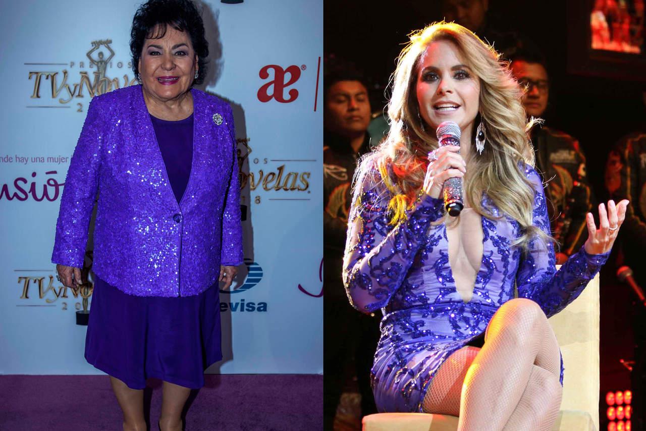 Serán madrinas de Hoy, Carmen Salinas y Lucero