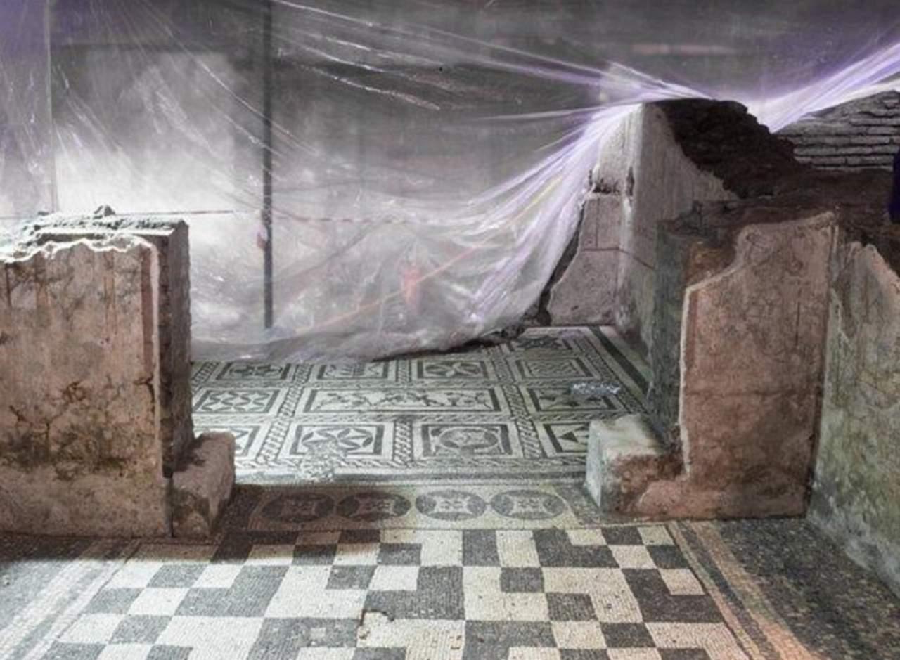 Descubren ruinas antiguas bajo la construcción del metro en Roma