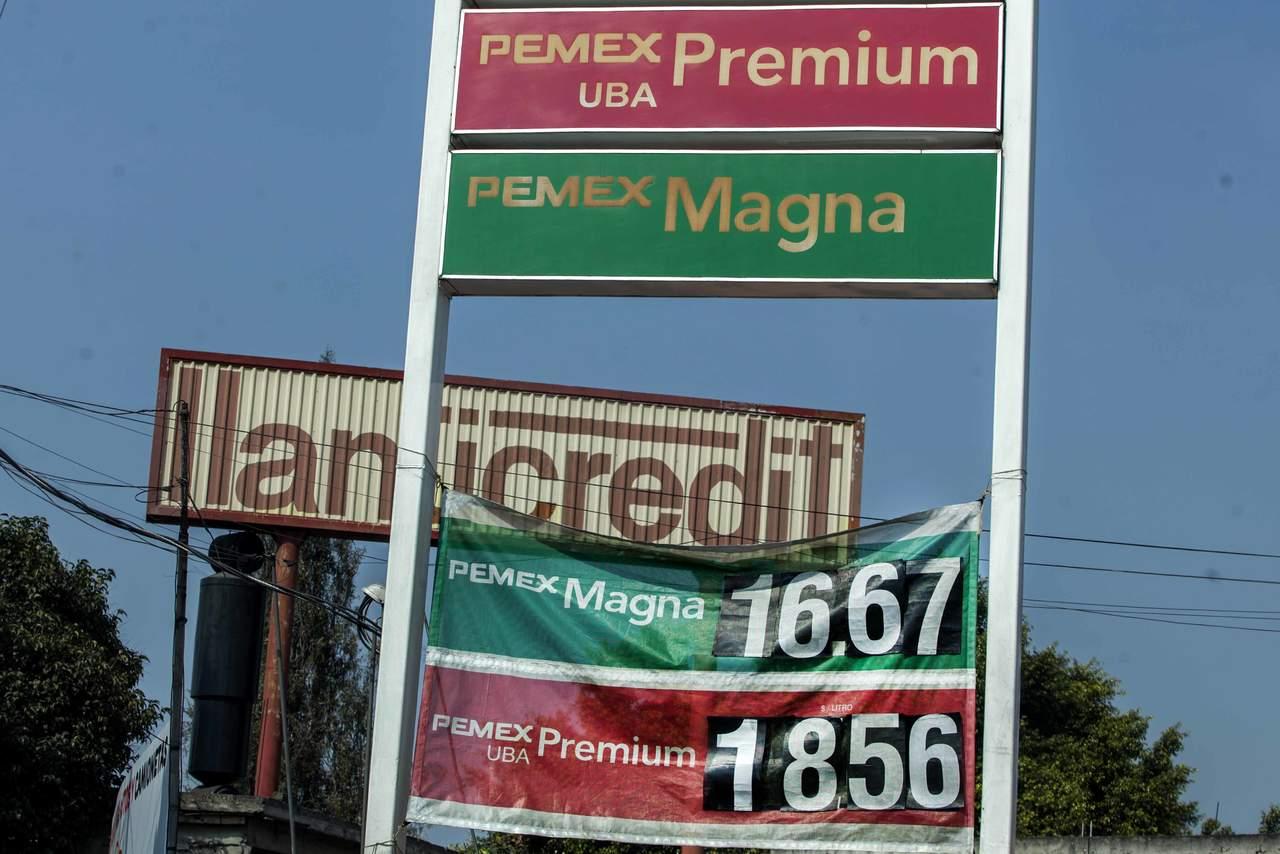 Alza en precio de gasolina impulsa la inflación