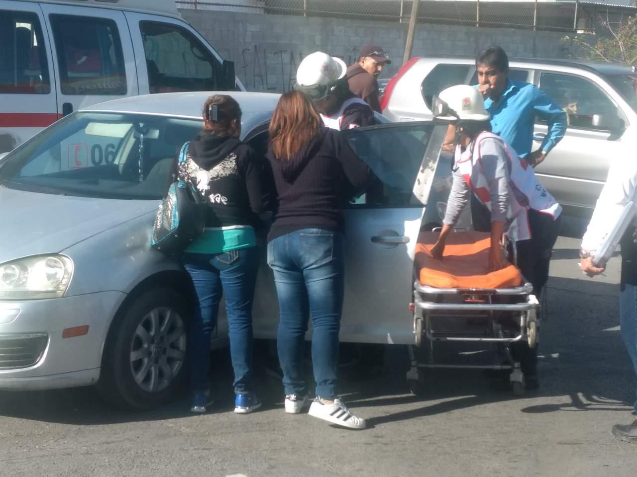 Choque en Hidalgo y Madero deja un lesionado