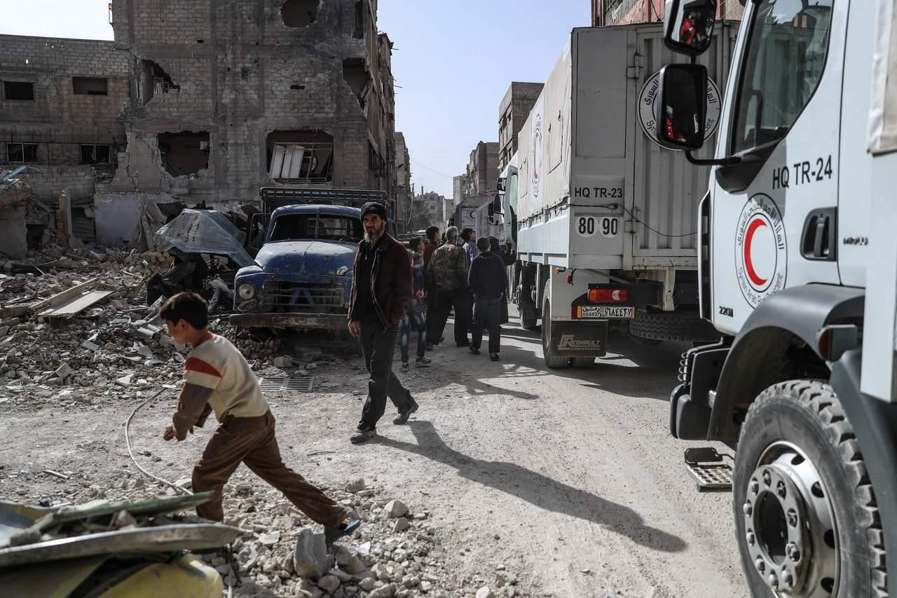 Cada día, 71 muertos en promedio en Guta, alerta MSF